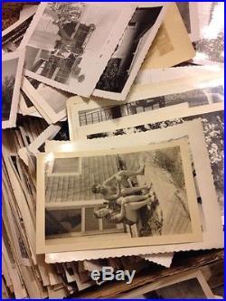 1000 Old Photos Lot BW Vintage Photographs Snapshots Black White antique