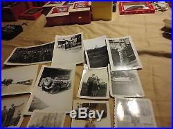 103 Vintage Military Photos Uniforms Handsome Men Jeeps Dog WW2 Airborne Army