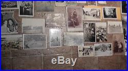 10 Lbs 100+ Vintage Photograph & Postcard Lot Collection Antique Black & White