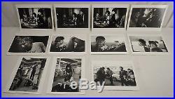 11 Vintage Rod Stewart Jeff Beck Ron Wood B&W Photos Back Stamped Baron Wolman
