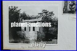 125 PHOTOS ALBUM China Singapore Japan 1920's Lacquered Album