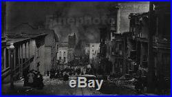 1906 Vintage San Francisco EARTHQUAKE Chinatown 11x14 Photo Art By ARNOLD GENTHE