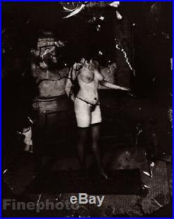 1912 New Orleans Nude Female Prostitute E. J. Bellocq Louisiana Vintage Photo Art