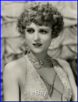 1920s Flapper Jacqueline Gadsden Vintage Oversized CS Bull Art Deco Photograph