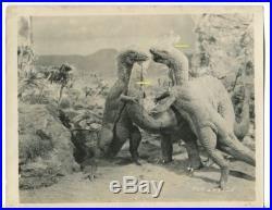 1925 LOST WORLD Silent Movie PHOTO LOT #2 Vintage Willis O'Brien DINOSAUR Scarce
