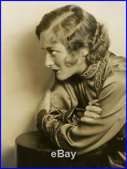 1929 Joan Crawford Large Format Vintage Ruth Harriet Louise Art Deco Photograph