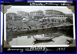 1930's US NAVY Chinese YANGTZE PATROL Vintage CHINA PHOTO ALBUM with 475 Photos