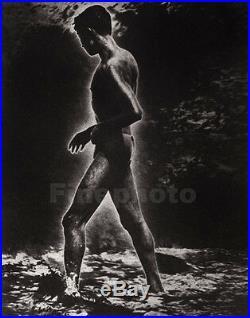 1930's Vintage CEYLON Sri Lanka SURREAL SEMI NUDE MALE Photo Art By LIONEL WENDT