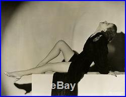 1930s Pre-Code Leggy Pin-Up Florine McKinney Risqué Vintage Art Deco Photograph
