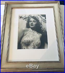 1932 Glamorous Pin-Up Bombshell Rita Hayworth VTG George Hurrell Photo 23 x 27