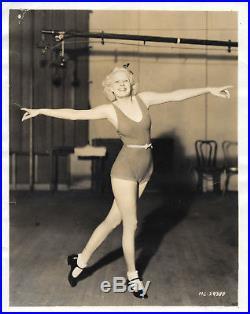 1933 Vintage Jean Harlow Press Photo