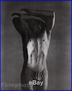 1936/81 Vintage SURREAL MALE NUDE Duotone Photo Art By GEORGE PLATT LYNES 16x20