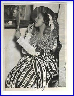 1936 Original African American Harlem Photo Voodoo Macbeth Photo Vintage
