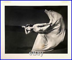 1940 Barbara Morgan Martha Graham The Kick, Vintage Silver Gelatin Print Framed