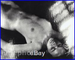 1940 Original Female Nude By Jaromir Funke Vintage Silver Gelatin Photograph