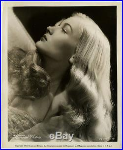 1942 Veronica Lake Pin-Up Peekaboo Vintage Hollywood Femme Fatale Photograph