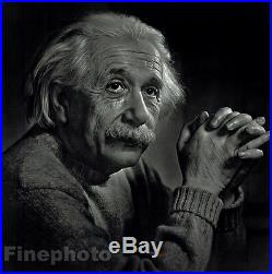 1948 Vintage ALBERT EINSTEIN Science Physics Portrait Photo YOUSUF KARSH 16x20