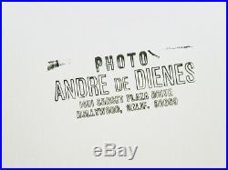 1950 Original Andre De Dienes Female Nude Underwater Silver Gelatin Photograph