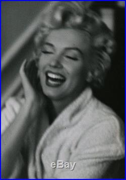 1954 Marilyn Monroe Vintage Bob Henriques Laughing Seven Year Itch Photograph NR