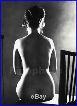 1960 Original Female Nude By Vaclav Chochola Vintage Silver Gelatin Photograph