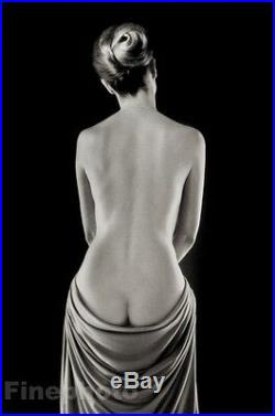 1962/86 Vintage RUTH BERNHARD Female Nude Woman Butt Photo Engraving Limited Ed