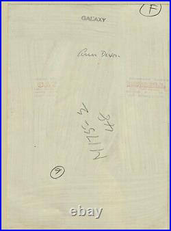 1962 Original ANN DIXON Female Nude Umbrella RUSSELL GAY Silver Gelatin Photo