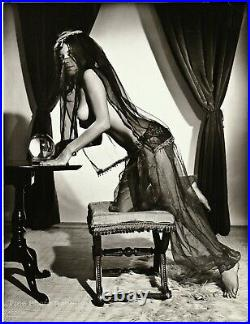 1963 Original Female Nude RUSSELL GAY Gypsy Fortune Teller Silver Gelatin Photo