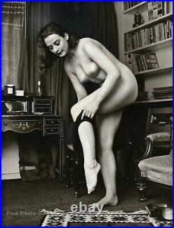 1967 Original Female Nude RUSSELL GAY Vintage UK Glamour Silver Gelatin Photo