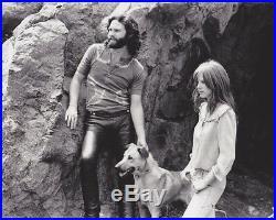 1969 Vintage Press Photograph JIM MORRISON Photograph Signature Edmund Teske