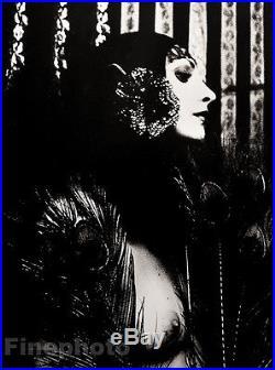 1974 Vintage IRINA IONESCO Female Nude BIG Art Deco Photo Gravure Fashion France