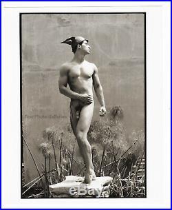 1995 Jay Jorgensen Original Male Nude Mythology God Mercury Silver Gelatin Photo