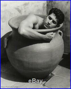 1995 Original Jay Jorgensen Male Nude Pottery Ceramics Silver Gelatin Art Photo