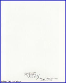 1995 Original Male Nude Signed By JAY JORGENSEN Silver Gelatin Art Photograph