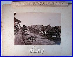 19c ASIA PHILIPPINES VINTAGE B&W PHOTO PHOTOGRAPH MANILA VIEW ARCHITECTURE