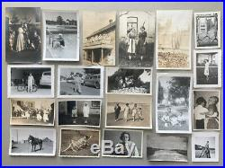 1,800 Photo Lot Vintage Snapshot Old Black White Photograph Men Women Animal Odd