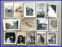 1,800 Snapshot Photo Lot Vintage Old Black White Photograph Men Women Animal Odd