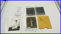 3 BETTIE PAGE EARLY UNPUBLISHED ICONIC CAMERA NEGATIVE Bunny Yeager / Forrest