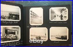 3 Vintage Albums 427 Photos Cars 1937 Cincinnati Flood WWII Horse Meat Market