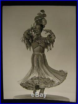 40s Carmen Miranda VINTAGE Oversize 11x14 PHOTO OS79