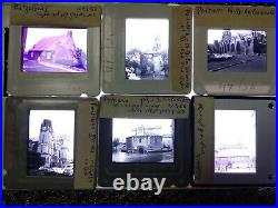 480 Lot Vintage 35mm Photo Slides World Buildings Architecture History 50s +GIFT