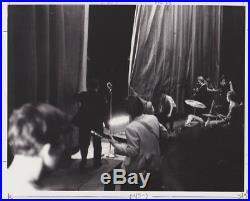 4 Pcs Vintage Photograph THE ROLLING STONES 1960's