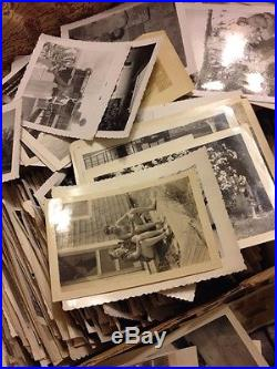 500 Old Photos Lot BW Vintage Photographs Snapshots Black White #1