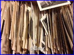700 Old Photos Lot BW Vintage Photographs Snapshots Black White antique vtg