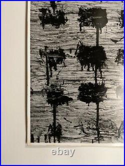AARON SISKIND Chicago 42 1952 vtg ORIGINAL abstract Silver Gelatin photo print
