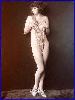 ALFRED CHENEY JOHNSTON RISQUE Kathleen Burke VINTAGE GELATIN SILVER PHOTOGRAPH
