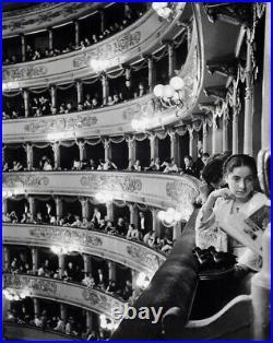 ALFRED EISENSTAEDT Signed 1933 Original Photograph Premiere at La Scala, Milan