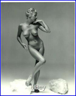 ANDRE DE DIENES ORIGINAL OVER-SIZED ART PHOTO 10 3/4 X 13 1/4 STAMPED NM c1960