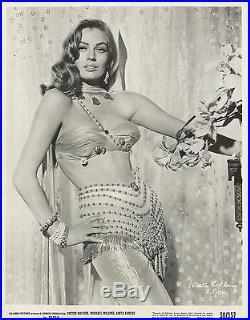 ANITA EKBERG in Zarak Original Vintage Photograph 1956 SUPER SEXY PORTRAIT