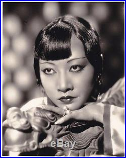 ANNA MAY WONG Beautiful Original Vintage 1930s Studio Portrait Photo Chinese