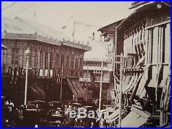 ANTIQUE VINTAGE CHINA CHINESE TURN 19th CENTURY NANJING ROAD SHANGHAI RARE PHOTO